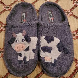 Haflinger Cow Slippers